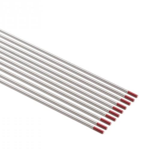 Electrodo tungsteno rojo