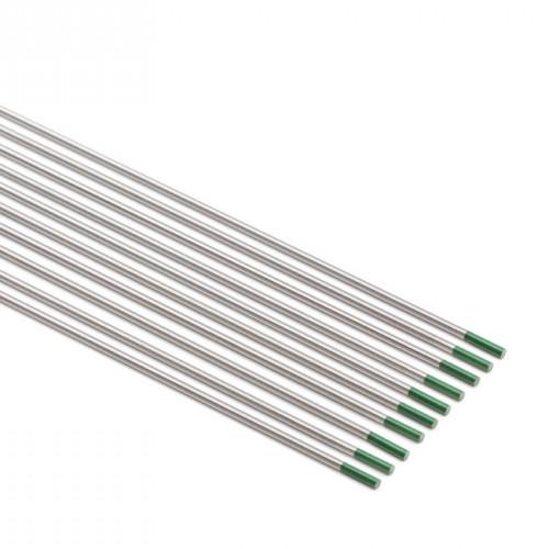 Electrodo tungsteno verde